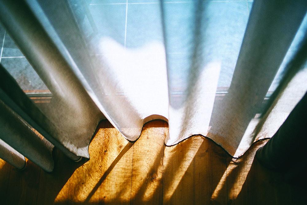 Le nettoyage des rideaux au pressing