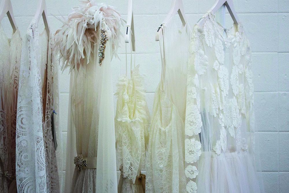 Le nettoyage des robes de mariée