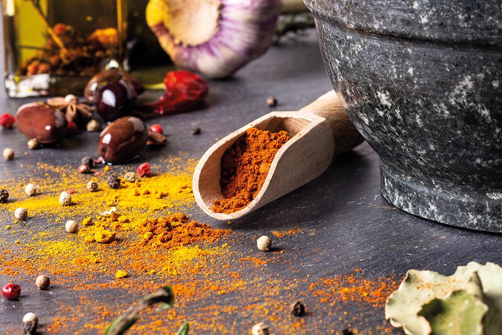 Comment enlever une tache de curry ?